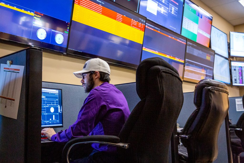 Vision Net Network Operations Center