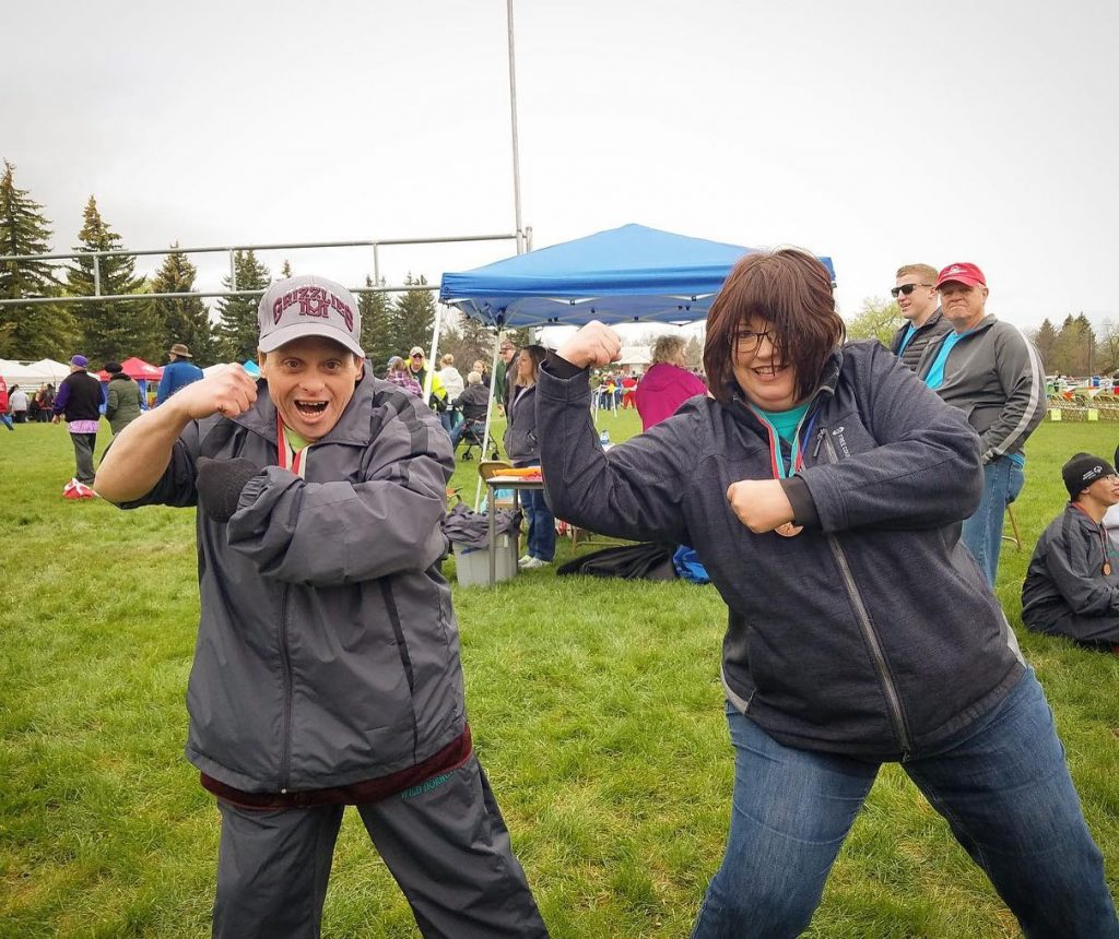 Vision Net Special Olympics Volunteer